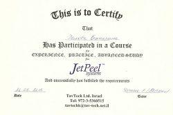 Сертификат Беловой Екатерины Викторовны
