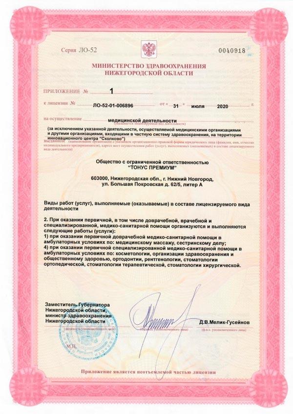 Лицензия Премиум